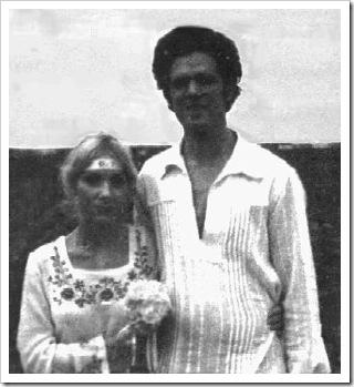 آمنک و همسرش
